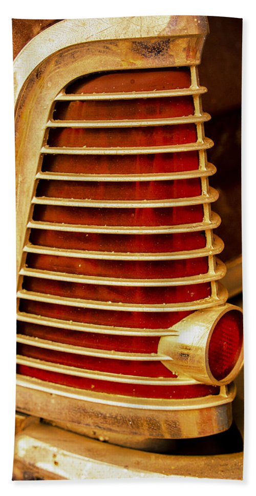 Old Beach Towel featuring the photograph Taillight by David Kay
