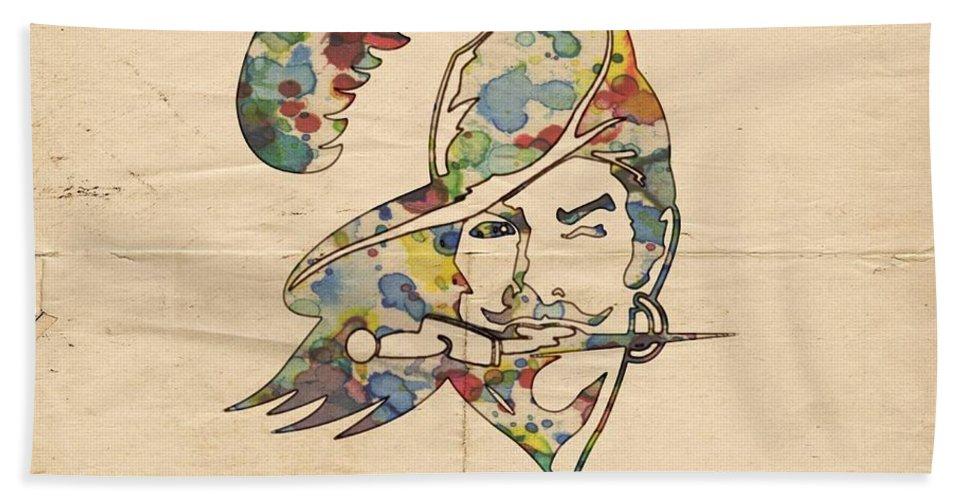 Tampa Bay Buccaneers Old Logo Beach Towel For Sale By Florian Rodarte