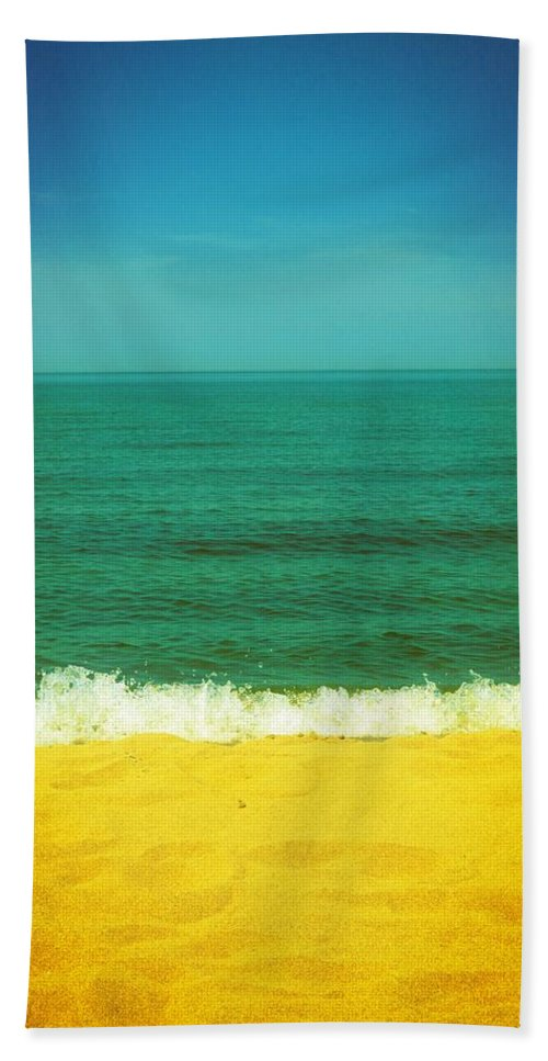 Lake Michigan Beach Towel featuring the photograph Teal Waters by Michelle Calkins