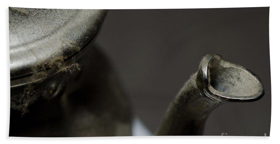 Tea Beach Towel featuring the photograph Teapot by Mats Silvan