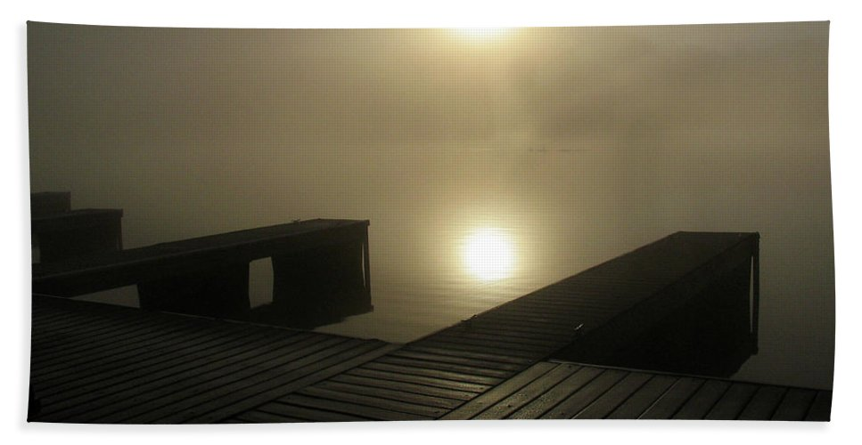 River Beach Towel featuring the photograph Tennessee River Sunrise by Douglas Stucky