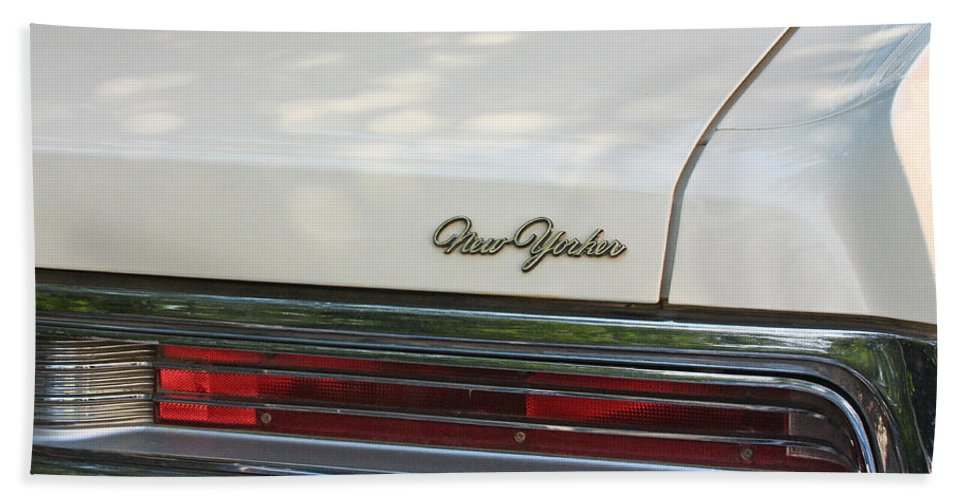 Antique Beach Towel featuring the photograph The Chrysler New Yorker by Jaroslav Frank