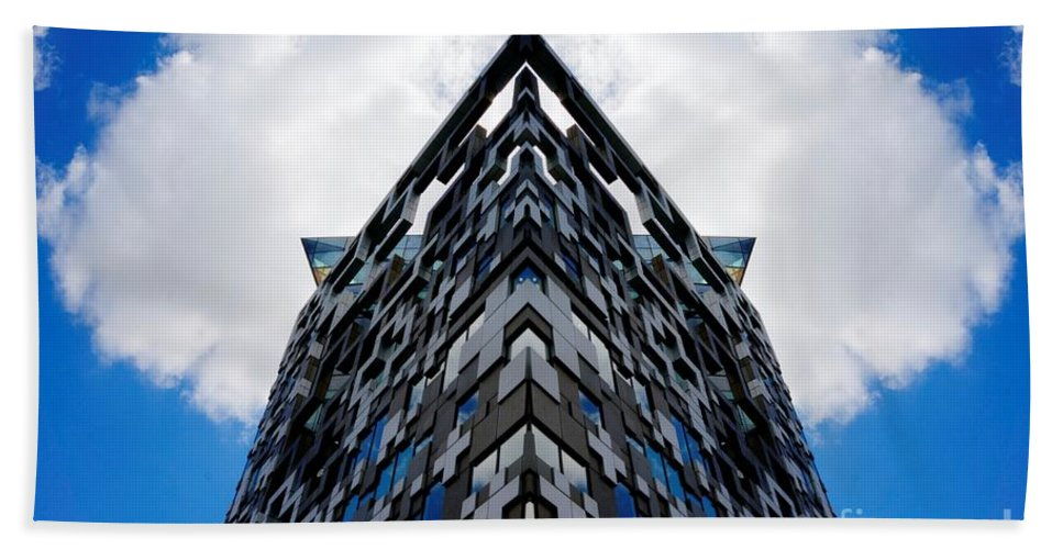 Birmingham Beach Towel featuring the photograph The Cube by Mickey At Rawshutterbug