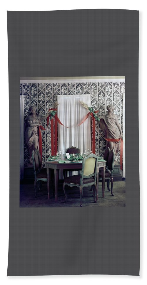The Dining Room In James A. Beard's Home Beach Towel