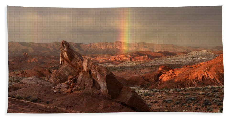Sandstone Beach Towel featuring the photograph The Glory Of Sandstone by Bob Christopher