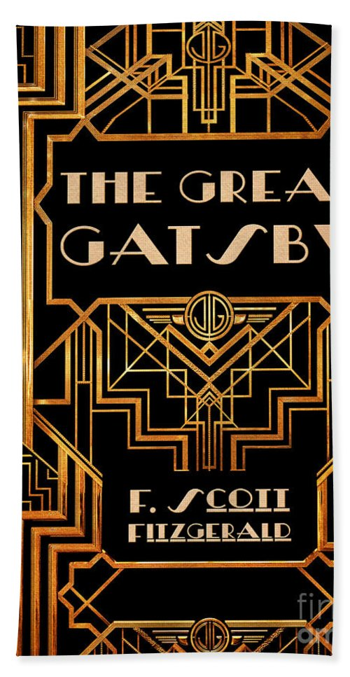 The Great Gatsby Book Cover Movie Poster Art 6 Beach Sheet For Sale By Nishanth Gopinathan