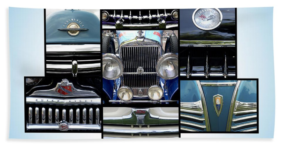 Collage Beach Towel featuring the photograph The Holy Grille by Doug Matthews