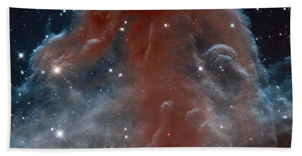 Horsehead Nebula Beach Towel featuring the photograph The Horsehead Nebula by Nasa