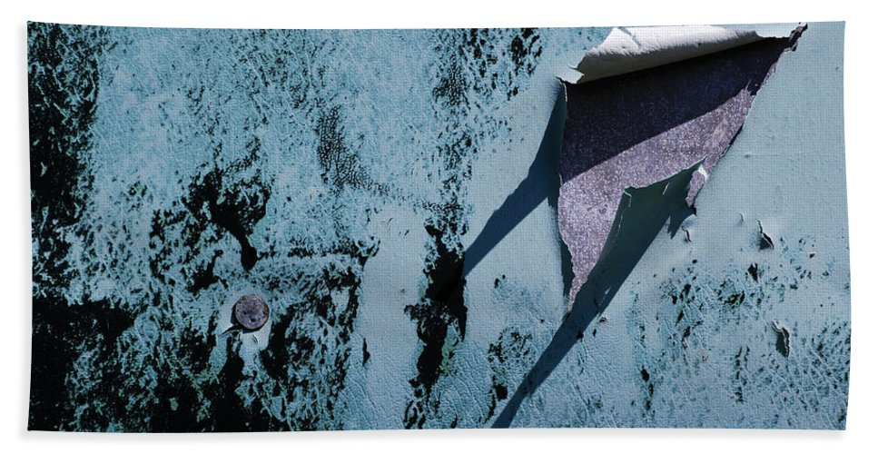 Old Beach Towel featuring the photograph The Long Shadow by Wendy Wilton