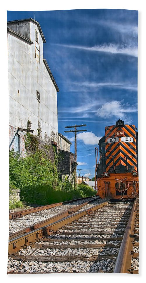 Architecture Beach Towel featuring the photograph The Old Mill by Marcia Colelli