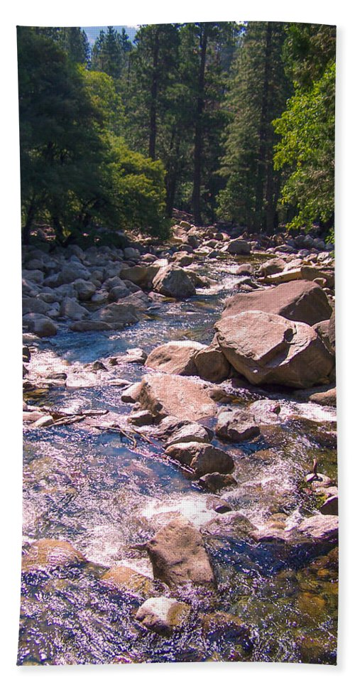 Yosemite Beach Towel featuring the photograph The Sound Of Silence by Dany Lison