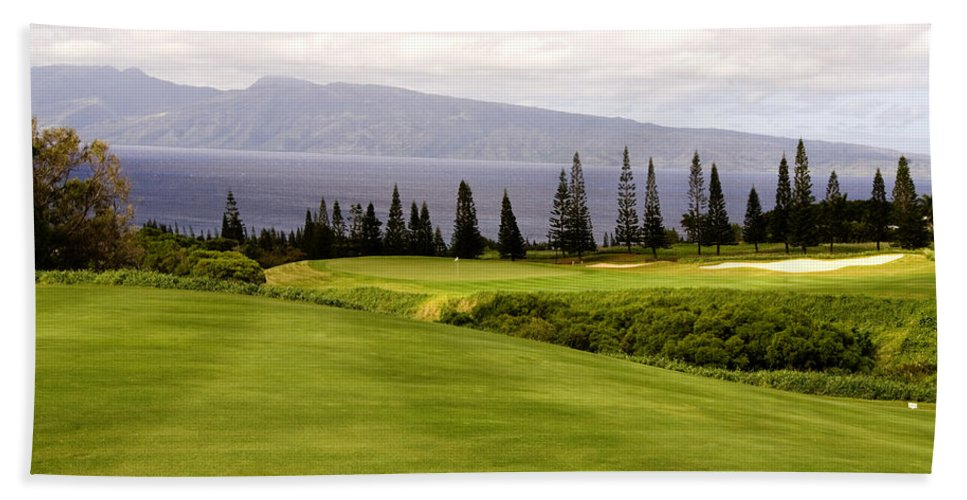 Golf Beach Towel featuring the photograph The View by Scott Pellegrin