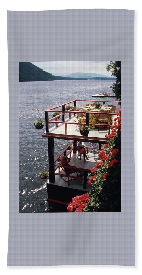 The Wyker's Deck Beach Towel