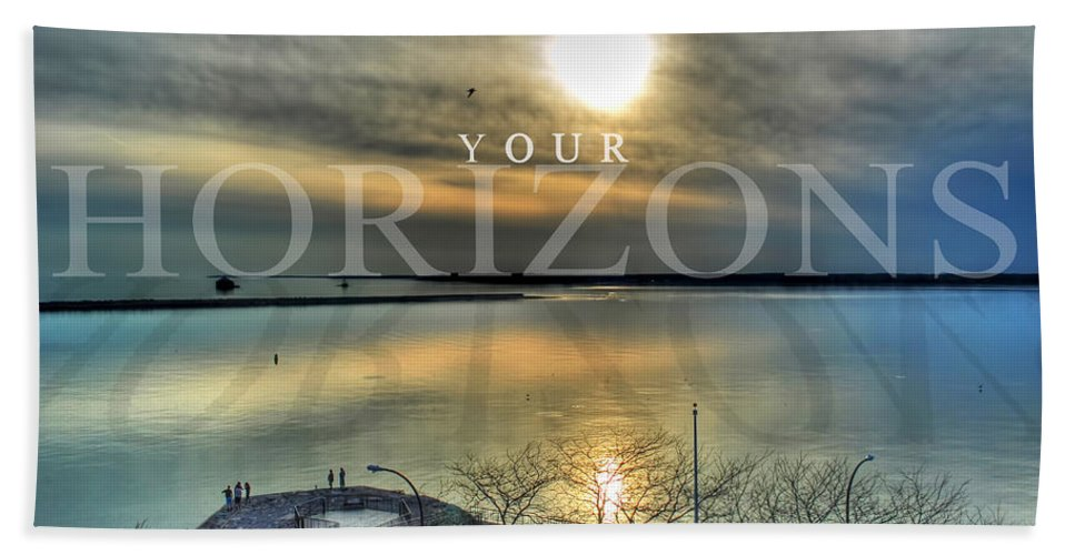 Optimism Beach Towel featuring the photograph Thinking Outside The Box by Michael Frank Jr