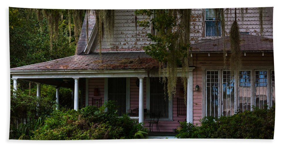 Architectural Features Beach Towel featuring the photograph This Old House by Ed Gleichman
