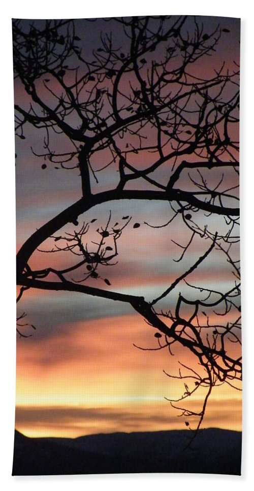 Sunrise Beach Towel featuring the photograph This Side Of The Night by Brian Boyle
