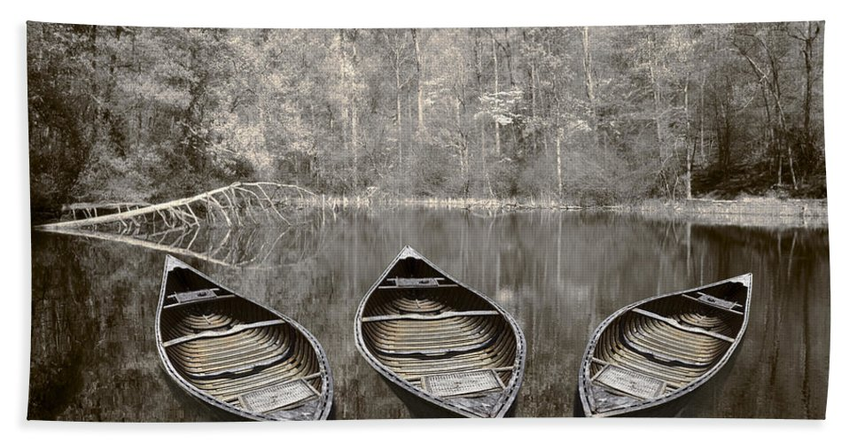 Appalachia Beach Sheet featuring the photograph Three by Debra and Dave Vanderlaan