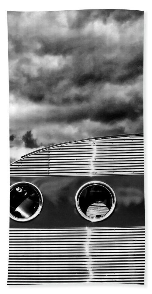 Airstream Beach Towel featuring the photograph Thunder And Lightning Palm Springs by William Dey