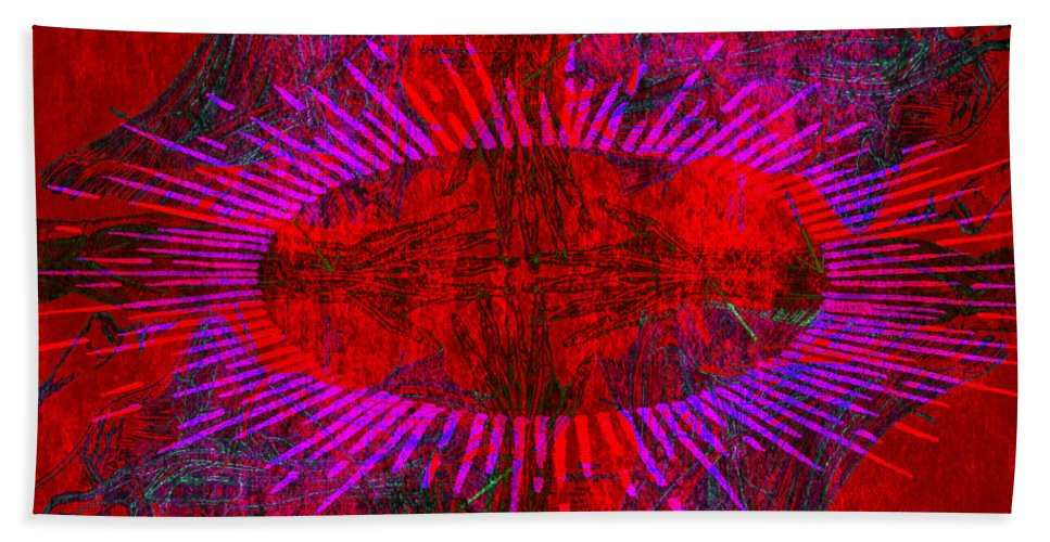 Anatomical Beach Towel featuring the photograph Togetherness by Stelios Kleanthous