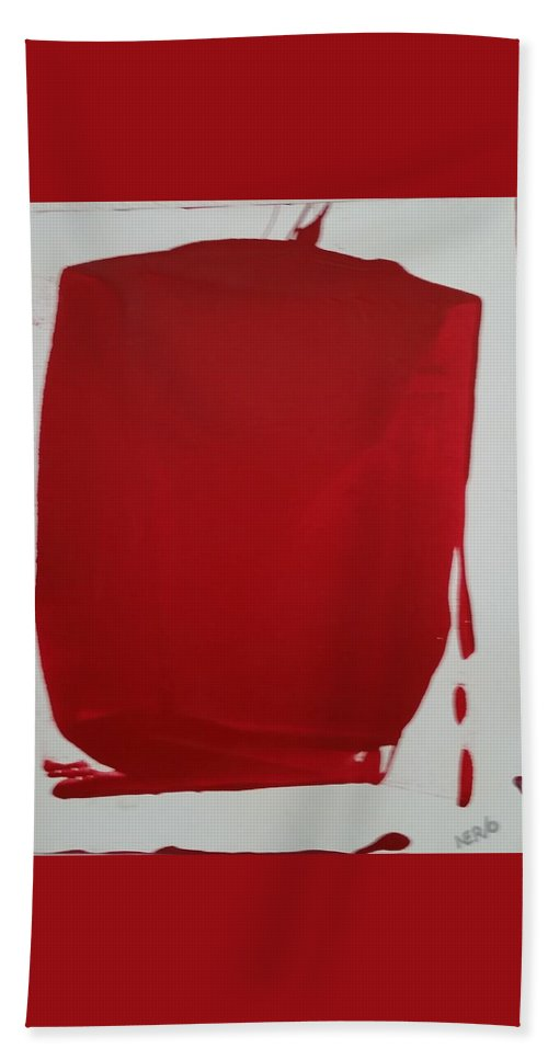 Canvas Beach Towel featuring the painting Tomate by Peter Nervo