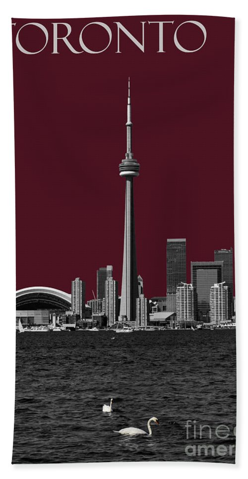 Toronto Beach Towel featuring the photograph Toronto Poster by Les Palenik
