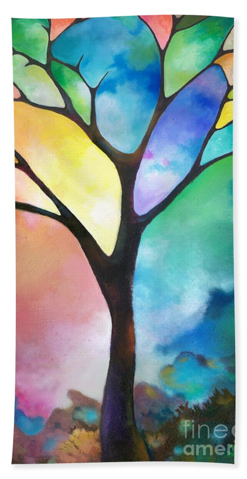 Original Art Abstract Art Acrylic Painting Tree Of Light By Sally ...