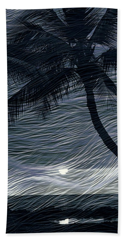 Hawaii Beach Towel featuring the photograph Tropical Breeze by Athala Bruckner