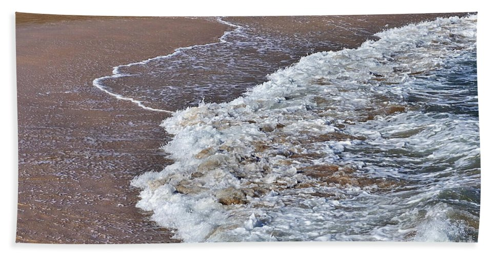 Photography Beach Towel featuring the photograph Turbulence by Kaye Menner