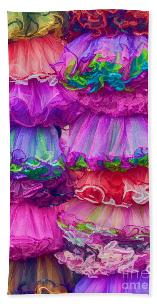 Tutu Beach Towel featuring the photograph Tutus By The Dozen by Kathleen K Parker