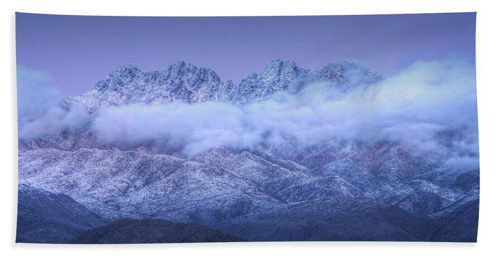 Twilight Beach Towel featuring the photograph Twilight by Saija Lehtonen
