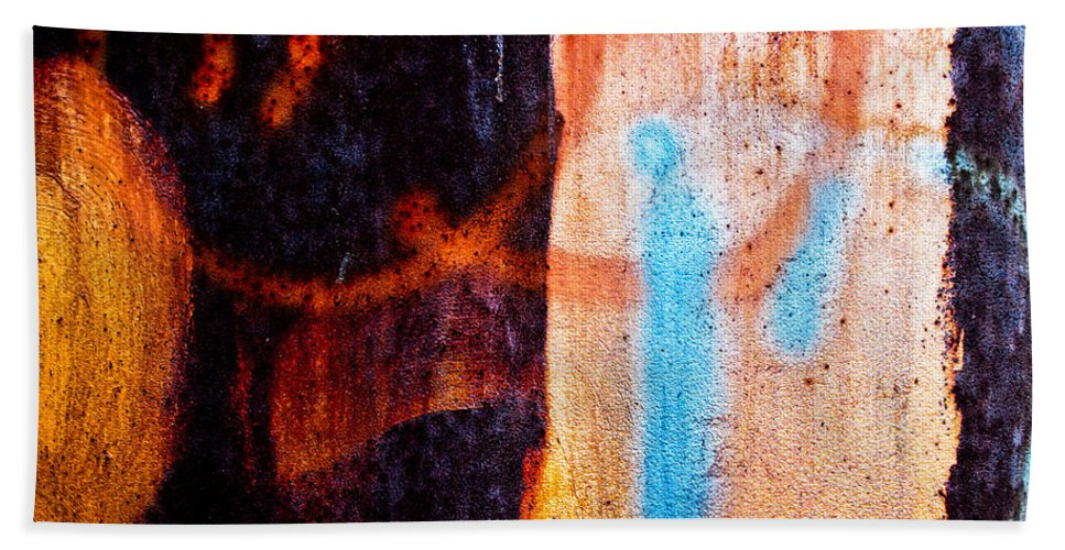 Abstract Beach Towel featuring the photograph Two As One by Bob Orsillo