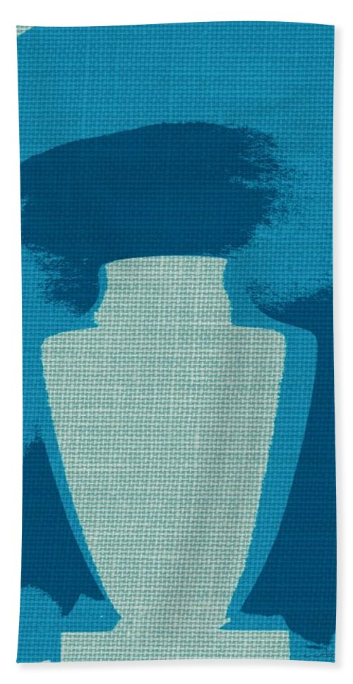 Container Beach Towel featuring the photograph Urn On Canvas by Chris Berry