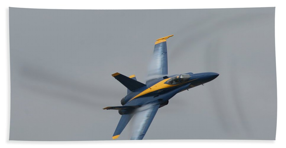Military Beach Towel featuring the photograph Vapor Release by Neal Eslinger