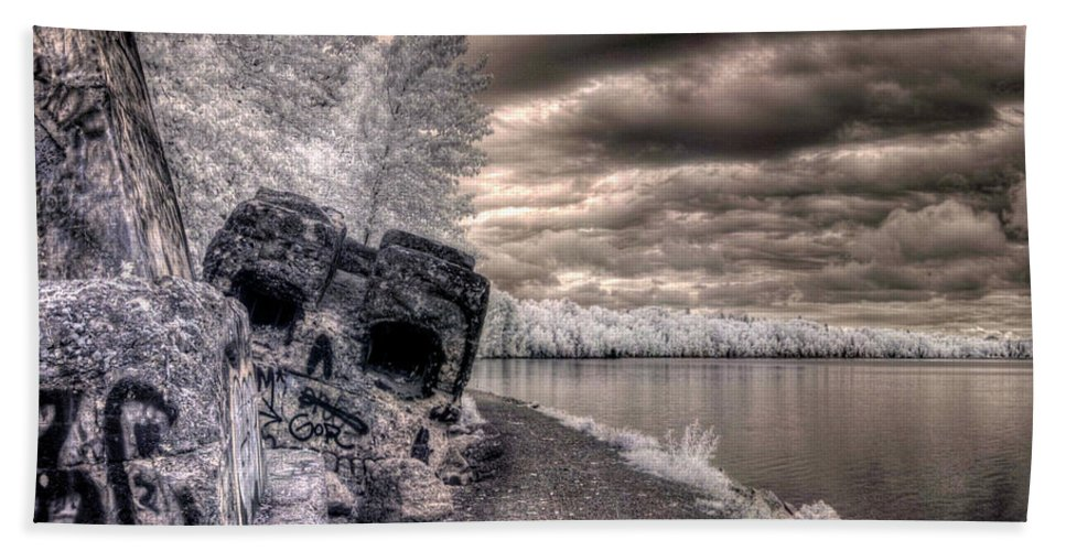 Landscape Beach Towel featuring the photograph Variation On A Theme 3 by Lee Santa