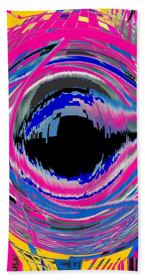 Abstract Beach Towel featuring the photograph Vienna Modern by Ian MacDonald