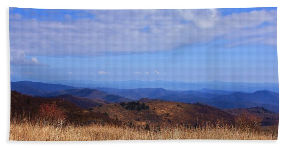 Black Balsam Knob Beach Towel featuring the photograph View From Black Balsam Knob by Mountains to the Sea Photo