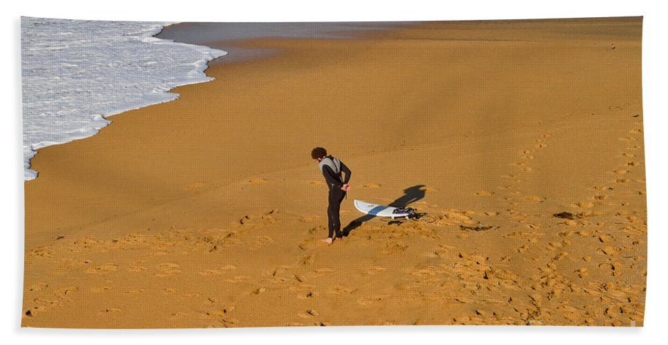 Travel Beach Towel featuring the photograph Warming Up by Louise Heusinkveld