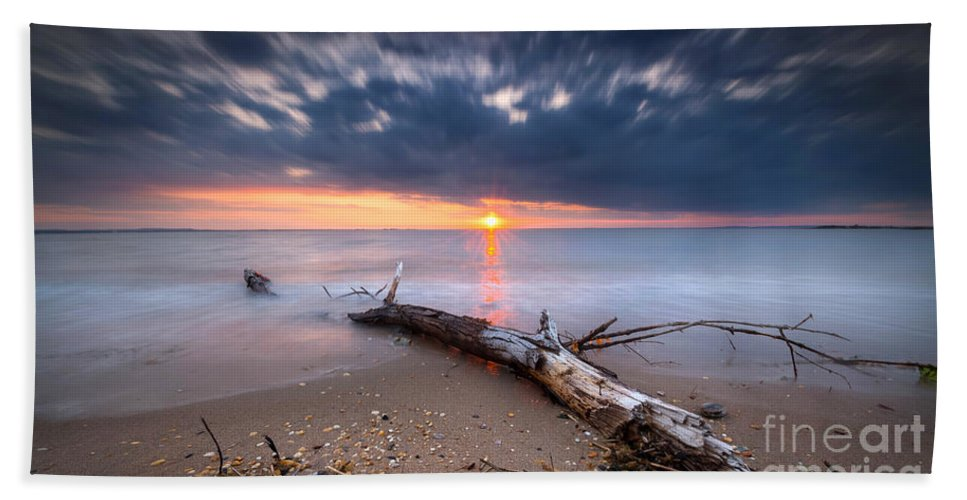 Life Of A Drifter Beach Towel featuring the photograph Washed Up by Michael Ver Sprill