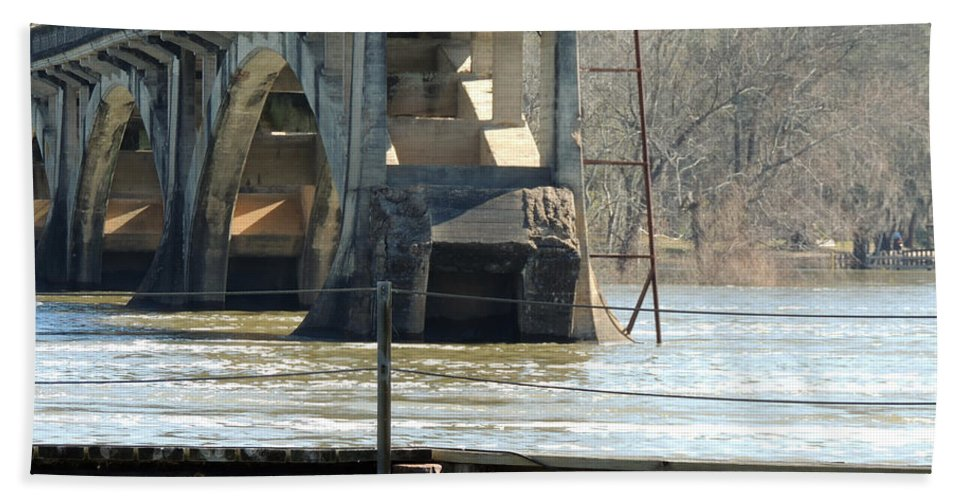 Digital Photography Beach Towel featuring the photograph Waterways Yesterdays by Kim Pate