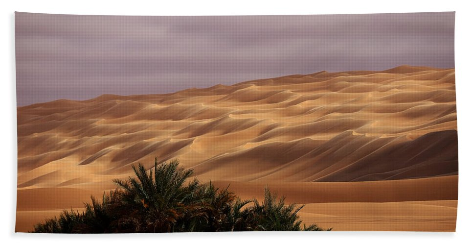 Libya Beach Towel featuring the photograph Waves by Ivan Slosar
