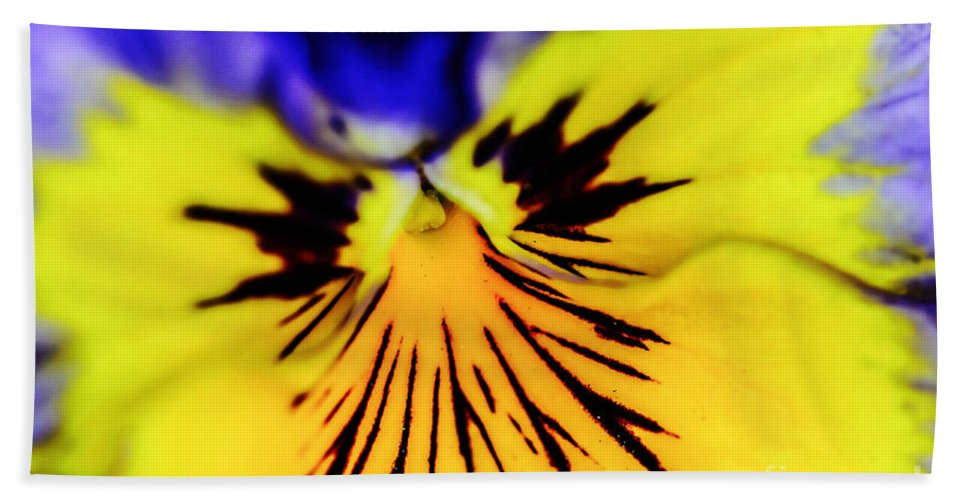 Landscape Beach Towel featuring the photograph Wee Kiss Of The Sun by Elvis Vaughn