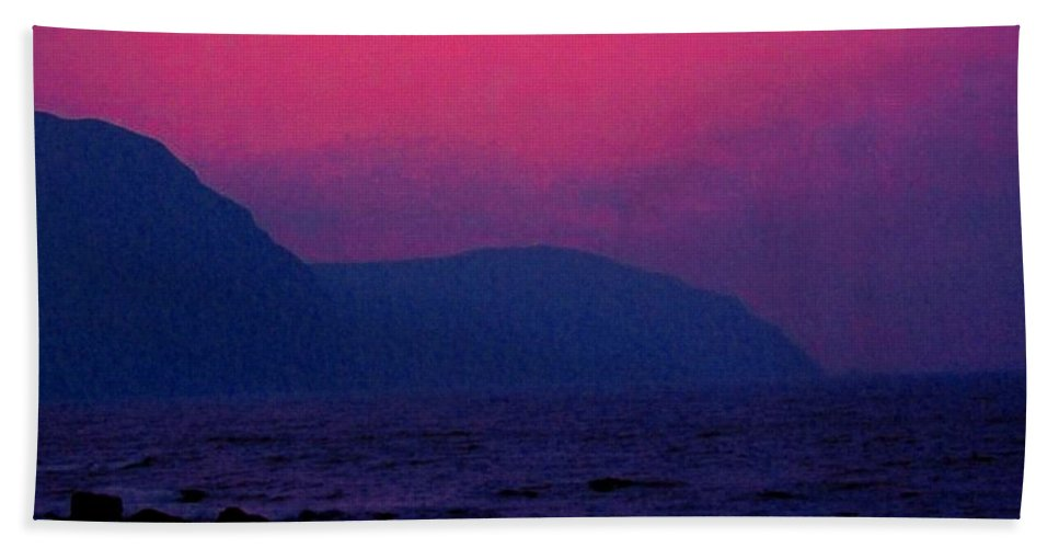 Newfoundland Beach Towel featuring the photograph West Coast Newfoundland Sunrise by Ian MacDonald