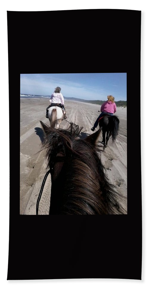 Photograph Beach Towel featuring the photograph What Could Be Better? by Muriel Scheidt