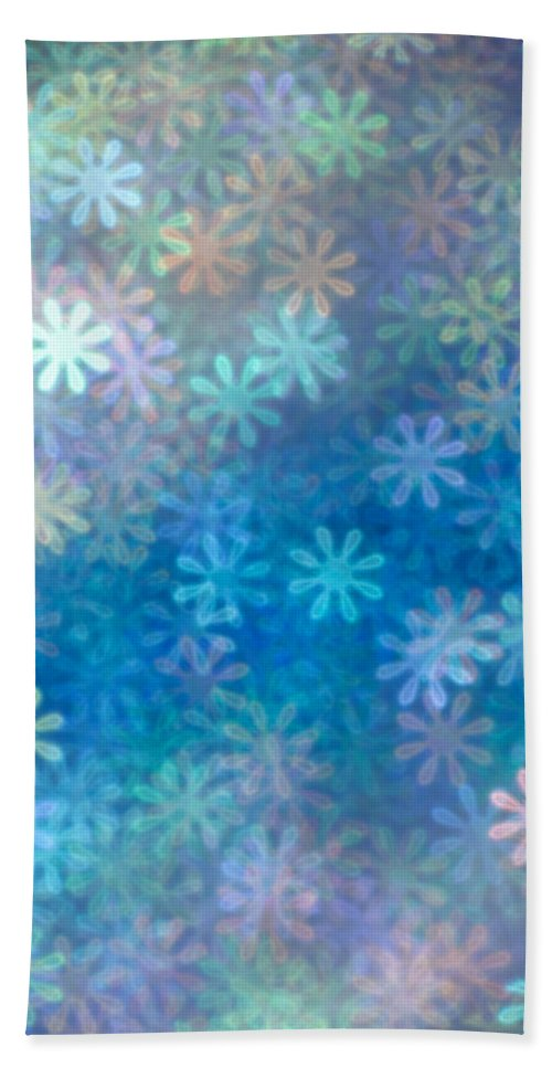 Abstract Beach Towel featuring the photograph Where Have All The Flowers Gone by Dazzle Zazz
