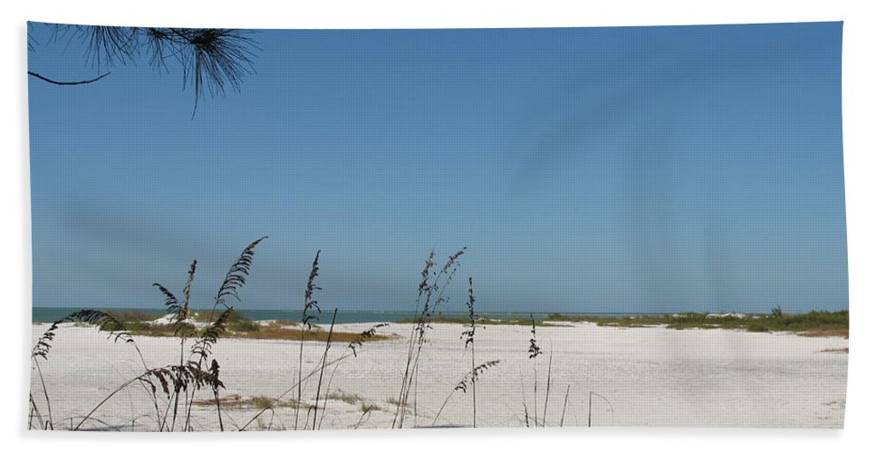 Beach Beach Towel featuring the photograph Whitesand Beach by Christiane Schulze Art And Photography