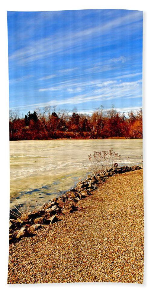 Sky Beach Towel featuring the photograph Wild Blue Yonder by Frozen in Time Fine Art Photography