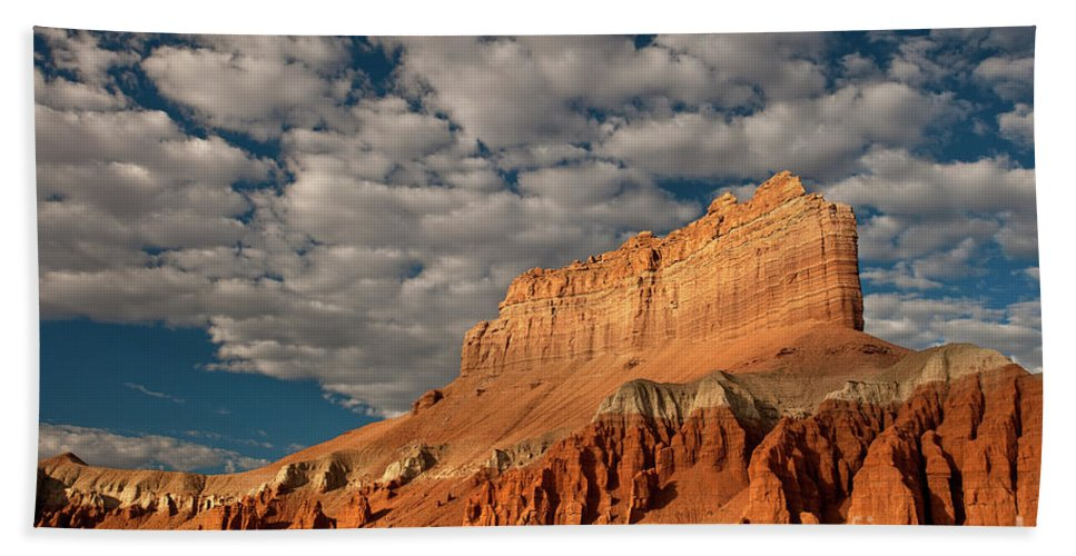 North America Beach Towel featuring the photograph Wild Horse Butte Goblin Valley Utah by Dave Welling