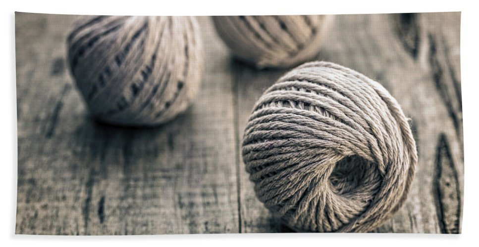 Backgrounds Beach Towel featuring the photograph Wire In Great Background by Paulo Goncalves