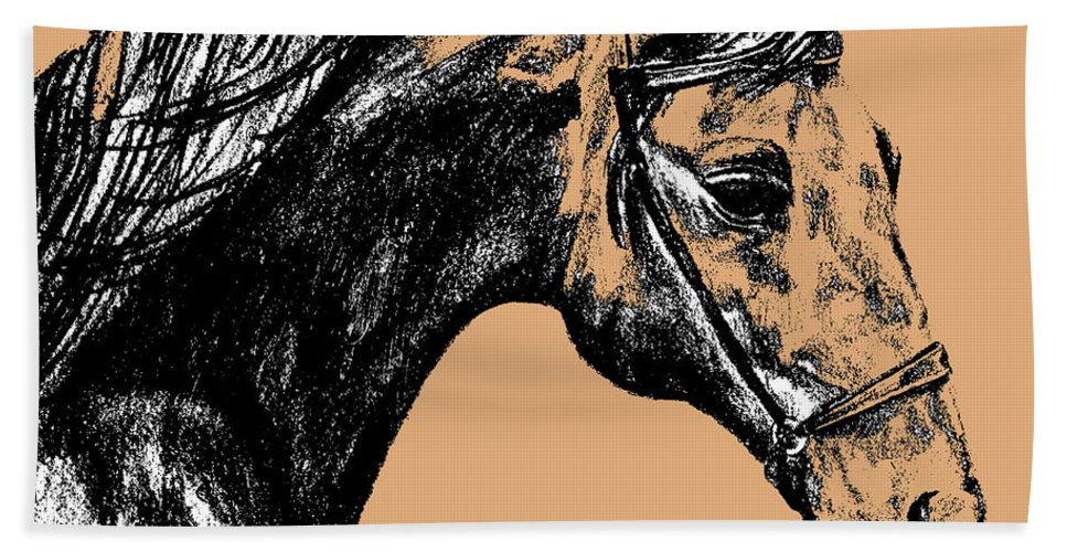Horse Beach Sheet featuring the photograph Woodbury Taupes by JAMART Photography