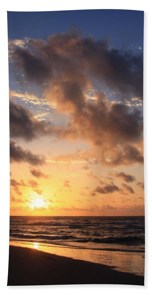 Wrightsville Beach Beach Towel featuring the photograph Wrightsville Beach At Sunrise by Mountains to the Sea Photo